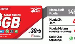 Voucher Data Smartfren 8GB