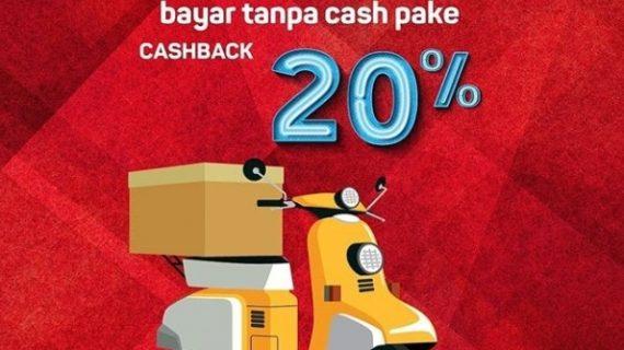 Kirim Barang Pake JNE Cashback 20%